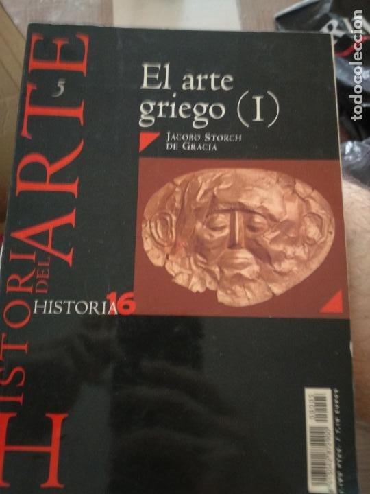 HISTORIA DEL ARTE EL ARTE GRIEGO 1 HISTORIA 16 (Coleccionismo - Revistas y Periódicos Modernos (a partir de 1.940) - Revista Historia 16)