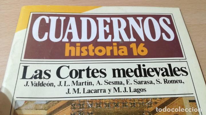 Coleccionismo de Revista Historia 16: CUADERNOS HISTORIA 16 - 51 - LAS CORTES MEDIEVALES / W103 - Foto 3 - 211523170
