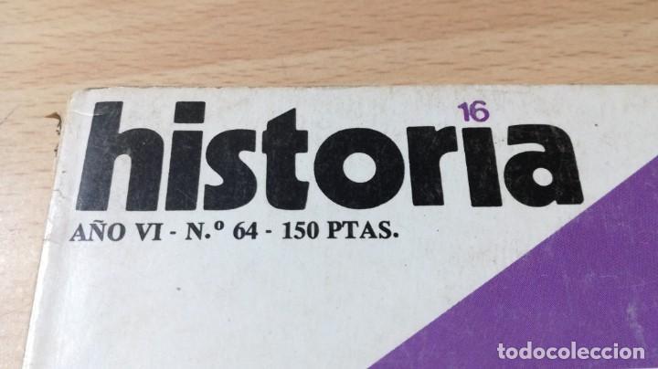 Coleccionismo de Revista Historia 16: HISTORIA 16 - 64 - IMPERIO BAGDAD - PLAN MARSHALL RECHAZO A FRANCO / W205 - Foto 3 - 211524160