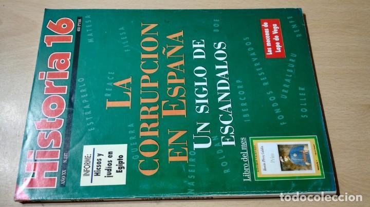 HISTORIA 16 - XX - 237 - LA CORRUPCION EN ESPAÑA - SIGLO ESCANDALOS / W205 (Coleccionismo - Revistas y Periódicos Modernos (a partir de 1.940) - Revista Historia 16)