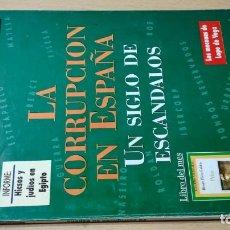 Coleccionismo de Revista Historia 16: HISTORIA 16 - XX - 237 - LA CORRUPCION EN ESPAÑA - SIGLO ESCANDALOS / W205. Lote 211524191