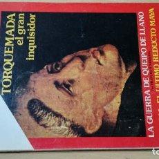 Coleccionismo de Revista Historia 16: HISTORIA 16 - X - 113 - TORQUEMADA - GUERRA QUEIPO DE LLANO - TAYASAL MAYA / W205. Lote 211524216