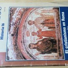 Coleccionismo de Revista Historia 16: CUADERNOS HISTORIA 16 - 58 - EL CRISTIANISMO EN ROMA / W205. Lote 211524247