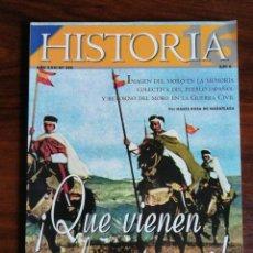 Coleccionismo de Revista Historia 16: HISTORIA 16. ¡QUE VIENEN LOS MOROS! Nº 319. Lote 214292383