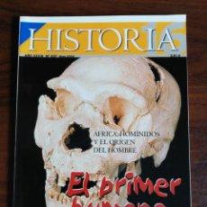 Coleccionismo de Revista Historia 16: HISTORIA 16. EL PRIMER HUMANO. ÁFRICA, HOMÍNIDOS Y EL ORIGEN DEL HOMBRE. Nº 337. Lote 214292542