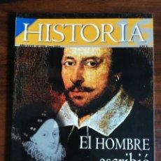 Coleccionismo de Revista Historia 16: HISTORIA 16. EL HOMBRE QUE ESCRIBIÓ LAS OBRAS DE SHAKESPEARE.. Nº 333. Lote 214292722