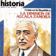 Colecionismo da Revista Historia 16: HISTORIA 16 Nº 104. PEDIDO MÍNIMO EN REVISTAS DE HISTORIA: 5 UNIDADES. Lote 216684122