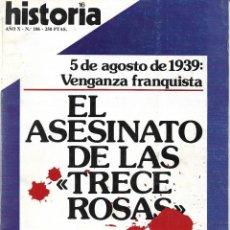 Colecionismo da Revista Historia 16: HISTORIA 16 Nº 106. PEDIDO MÍNIMO EN REVISTAS DE HISTORIA: 5 UNIDADES. Lote 216993193