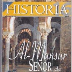 Coleccionismo de Revista Historia 16: REVISTA HISTORIA 16: AL-MANSUR SEÑOR DE AL-ANDALUS. Lote 217621131