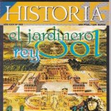 Coleccionismo de Revista Historia 16: REVISTA HISTORIA 16: EL JARDINERO DEL REY SOL. Lote 217621626