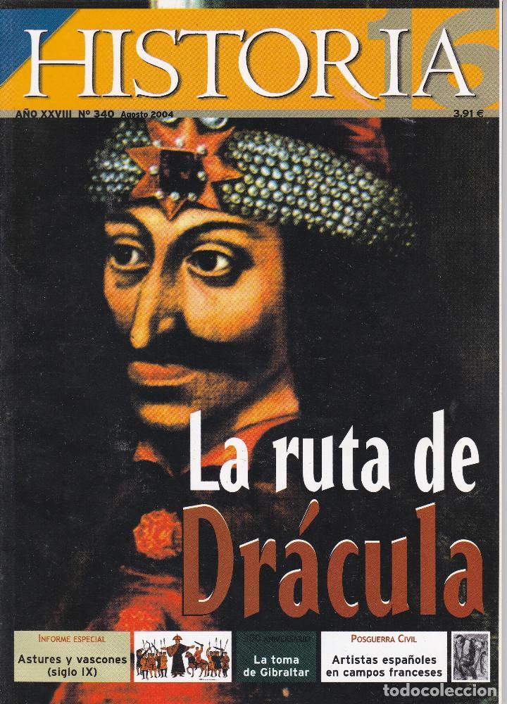 REVISTA HISTORIA 16: LA RUTA DE DRÁCULA (Coleccionismo - Revistas y Periódicos Modernos (a partir de 1.940) - Revista Historia 16)