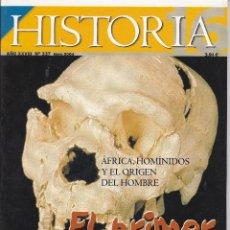 Coleccionismo de Revista Historia 16: REVISTA HISTORIA 16: EL PRIMER HUMANO. Lote 217623633