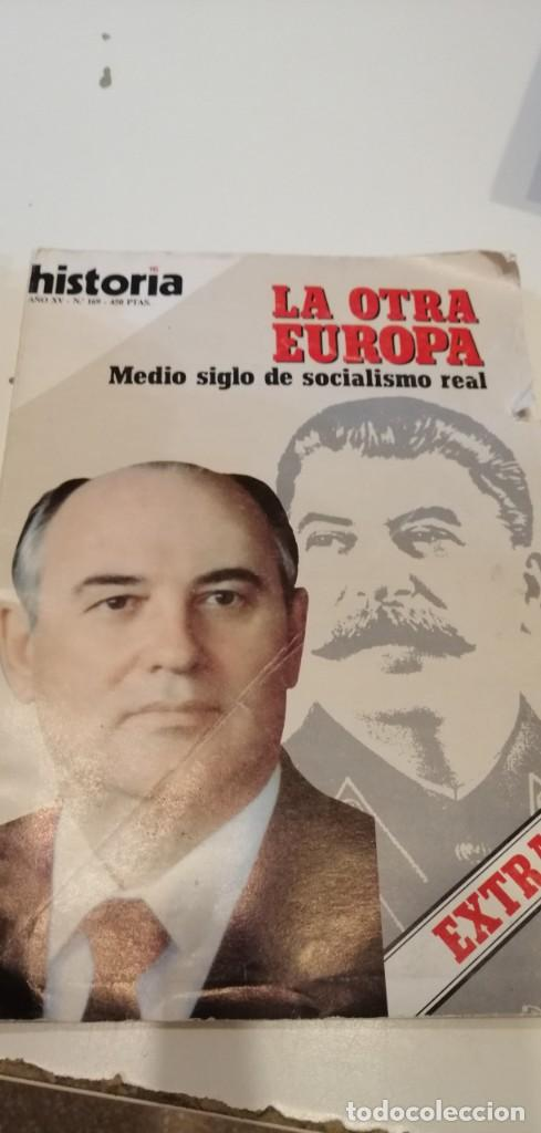 C-1 LIBRO HISTORIA 16 - Nº 169 LA OTRA EUROPA MEDIO SIGLO DE SOCIALISMO REAL (Coleccionismo - Revistas y Periódicos Modernos (a partir de 1.940) - Revista Historia 16)