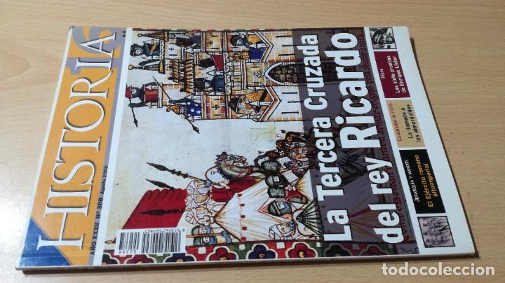 HISTORIA 388 TERCERA CRUZADA DEL REY RICARDO ESQ505 (Coleccionismo - Revistas y Periódicos Modernos (a partir de 1.940) - Revista Historia 16)