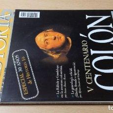 Collectionnisme de Magazine Historia 16: HISTORIA 361 V CENTENARIO COLON ESQ505. Lote 218167406