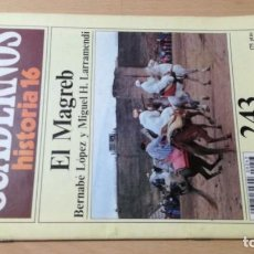 Coleccionismo de Revista Historia 16: EL MAGREB 243 CUADERNOS DE HISTORIA 16 B LOPEZ Y M H LARRAMENDI W405. Lote 218231712