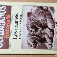 Coleccionismo de Revista Historia 16: LOS ARAMEOS 265 CUADERNOS DE HISTORIA 16 FEDERICO LARA PEINADO W405. Lote 218231821
