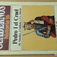 Coleccionismo de Revista Historia 16: PEDRO I EL CRUEL 190 CUADERNOS DE HISTORIA 16 M SANCHEZ J VALDEON JL MARTIN W405. Lote 218232197