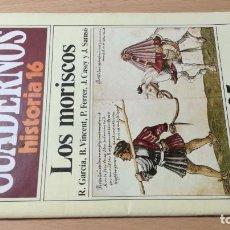 Coleccionismo de Revista Historia 16: LOS MORISCOS - 225 CUADERNOS HISTORIA 16 - VARIOS AUTORES W405. Lote 218233215