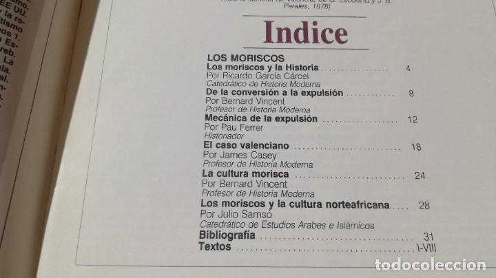 Coleccionismo de Revista Historia 16: LOS MORISCOS - 225 CUADERNOS HISTORIA 16 - VARIOS AUTORES W405 - Foto 3 - 218233215