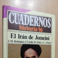 Coleccionismo de Revista Historia 16: EL IRAN DE JOMEINI - 232 CUADERNOS HISTORIA 16 - VARIOS AUTORES W405. Lote 218233282