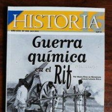 Collectionnisme de Magazine Historia 16: HISTORIA 16. Nº 324. GUERRA QUÍMICA EN EL RIF. Lote 240841885