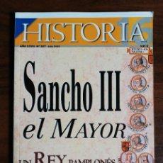 Coleccionismo de Revista Historia 16: HISTORIA 16. Nº 327. SANCHO III EL MAYOR. UN REY PAMPLONÉS E HISPANO. Lote 218978707