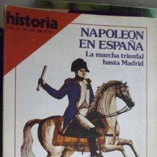 Coleccionismo de Revista Historia 16: HISTORIA 16. NUMERO 129 NAPOLEÓN EN ESPAÑA. INFORME: LA COLONIZACIÓN ROMANA DE ANDALUCÍA. Lote 219469646