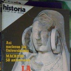 Collectionnisme de Magazine Historia 16: HISTORIA 16. NUMERO 154 LA NUEVA DAMA IBÉRICA. MACHADO 50 ANIVERSARIO.. Lote 219470000