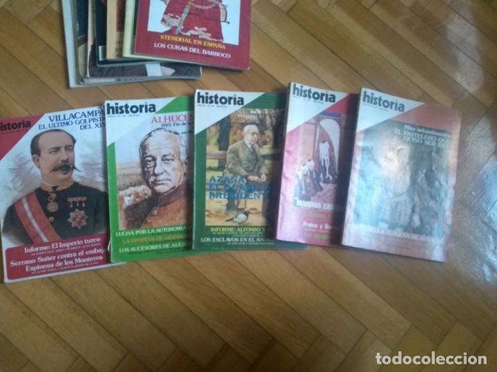 Coleccionismo de Revista Historia 16: Historia 16 - Lote de 24 revistas - Foto 5 - 219524291
