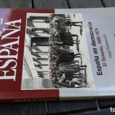 Coleccionismo de Revista Historia 16: HISTORIA 16 ESPAÑA ESPAÑA EN DEMOCRACIA SEXENIO 1868 1874 - 23 Z004. Lote 219574966