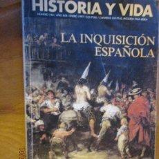 Coleccionismo de Revista Historia 16: HISTORIA Y VIDA Nº 346 - LA INQUISICIÓN ESPAÑOLA .... Lote 220997617
