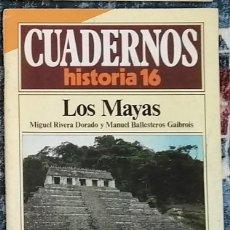 Coleccionismo de Revista Historia 16: CUADERNOS HISTORIA 16 Nº 16 LOS MAYAS. Lote 221402315