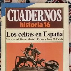 Coleccionismo de Revista Historia 16: CUADERNOS HISTORIA 16 Nº 20 LOS CELTAS EN ESPAÑA. Lote 221403172