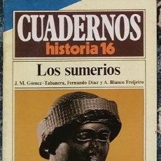 Coleccionismo de Revista Historia 16: CUADERNOS HISTORIA 16 Nº 23 LOS SUMERIOS. Lote 221403958