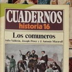 Coleccionismo de Revista Historia 16: CUADERNOS HISTORIA 16 Nº 24 LOS COMUNEROS. Lote 221404290