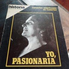 Coleccionismo de Revista Historia 16: REVISTA HISTORIA 16 N°165 ENERO 1990 - YO, PASIONARIA REF UR EST. Lote 221470161