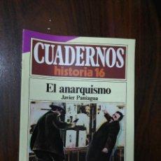 Coleccionismo de Revista Historia 16: EL ANARQUISMO - JAVIER PANIAGUA. CUADERNOS HISTORIA 16. 157. Lote 222584218