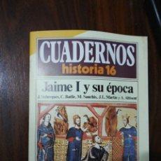 Coleccionismo de Revista Historia 16: JAIME I Y SU ÉPOCA - VV.AA.. CUADERNOS HISTORIA 16. 53. Lote 222598282