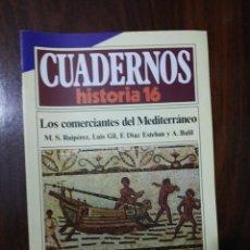 Coleccionismo de Revista Historia 16: LOS COMERCIANTES DEL MEDITERRÁNEO - VV.AA.. CUADERNOS HISTORIA 16. 142. Lote 222598488
