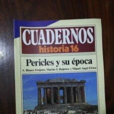 Coleccionismo de Revista Historia 16: PERICLES Y SU ÉPOCA - VV.AA.. CUADERNOS HISTORIA 16. 141. Lote 222598518
