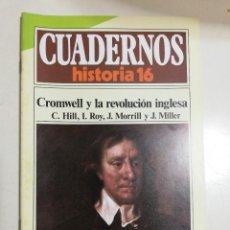 Coleccionismo de Revista Historia 16: CROMWELL Y LA REVOLUCIÓN INGLESA - VV.AA.. CUADERNOS HISTORIA 16. 230. Lote 222602948
