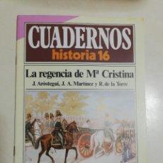 Coleccionismo de Revista Historia 16: LA REGENCIA DE Mª CRISTINA - VV.AA.. CUADERNOS HISTORIA 16. 64. Lote 222603013