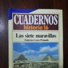 Coleccionismo de Revista Historia 16: LAS SIETE MARAVILLAS - FEDERICO LARA PEINADO. CUADERNOS HISTORIA 16. 228. Lote 222605497