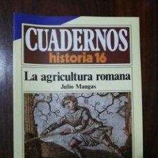 Coleccionismo de Revista Historia 16: LA AGRICULTURA ROMANA - JULIO MANGAS. CUADERNOS HISTORIA 16. 146. Lote 222605643
