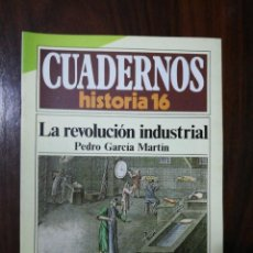Coleccionismo de Revista Historia 16: LA REVOLUCIÓN INDUSTRIAL - PEDRO GARCÍA MARTÍN. CUADERNOS HISTORIA 16. 257. Lote 222605738