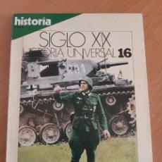 Coleccionismo de Revista Historia 16: HISTORIA SIGLO XX. HISTORIA UNIVERSAL 16. LA GUERRA RELÁMPAGO (JULIO 1984). Lote 222835580