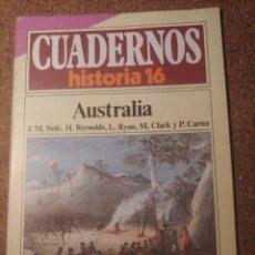 Coleccionismo de Revista Historia 16: CUADERNOS DE HISTORIA 16 AUSTRALIA Nº 187. Lote 222975155
