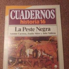 Coleccionismo de Revista Historia 16: CUADERNOS DE HISTORIA 16 LA PESTE NEGRA Nº 17. Lote 222975382