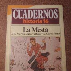 Collectionnisme de Magazine Historia 16: CUADERNOS DE HISTORIA 16 LA MESTA Nº 7. Lote 222975545